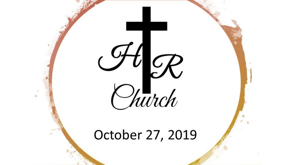 October 27, 2019