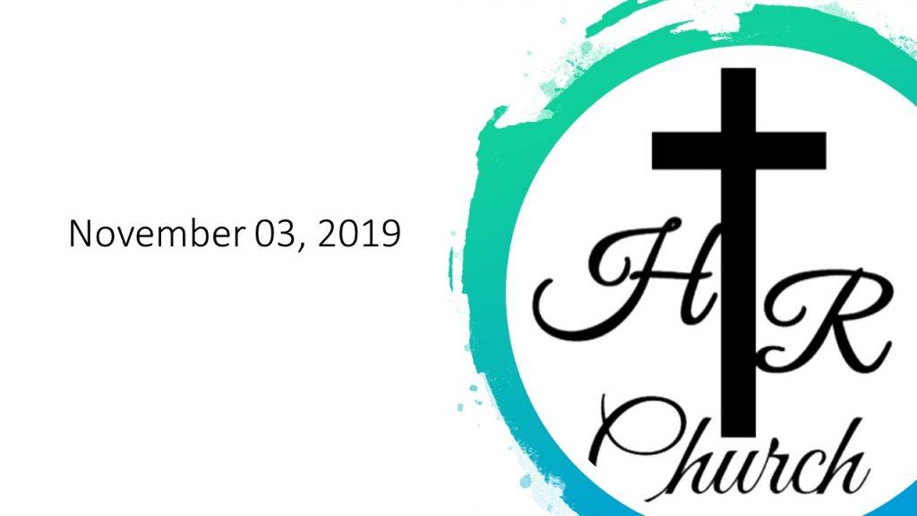 November 3, 2019